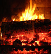 Fireplace - Wood burning