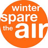 Winter Spare the Air logo