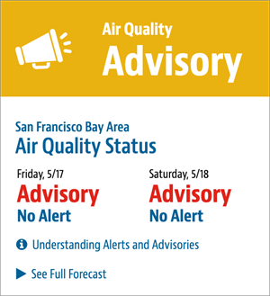 air quality advisory mode