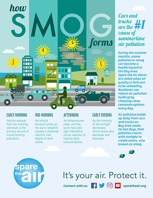 Smog Facts Infographic