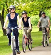 Take Action - Adults Riding Bicycles